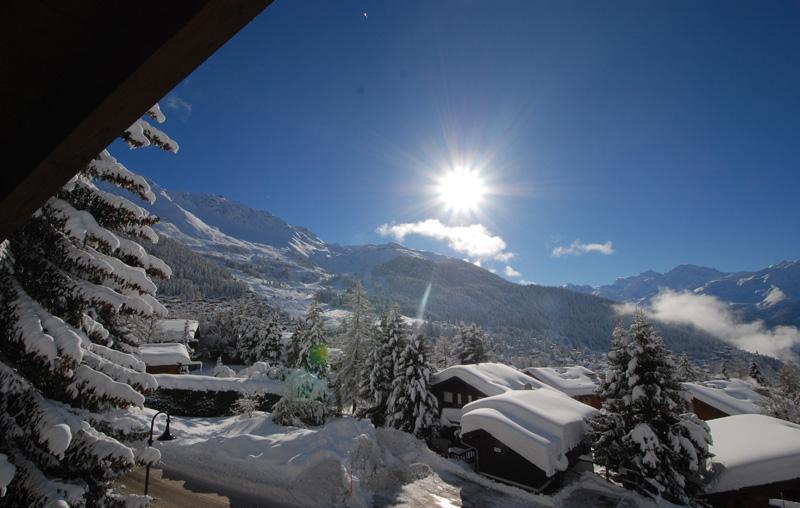 in Verbier beautiful attic apartment Panorama view, alquiler vacacional en Verbier