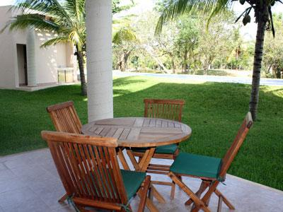 Patio close to the pool