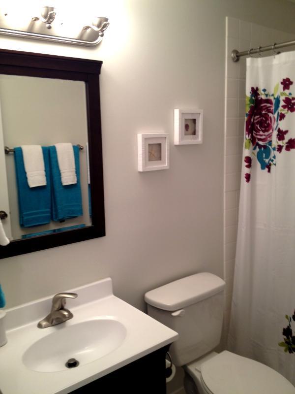 Neufs salles de bain, linge de maison & Luminaires