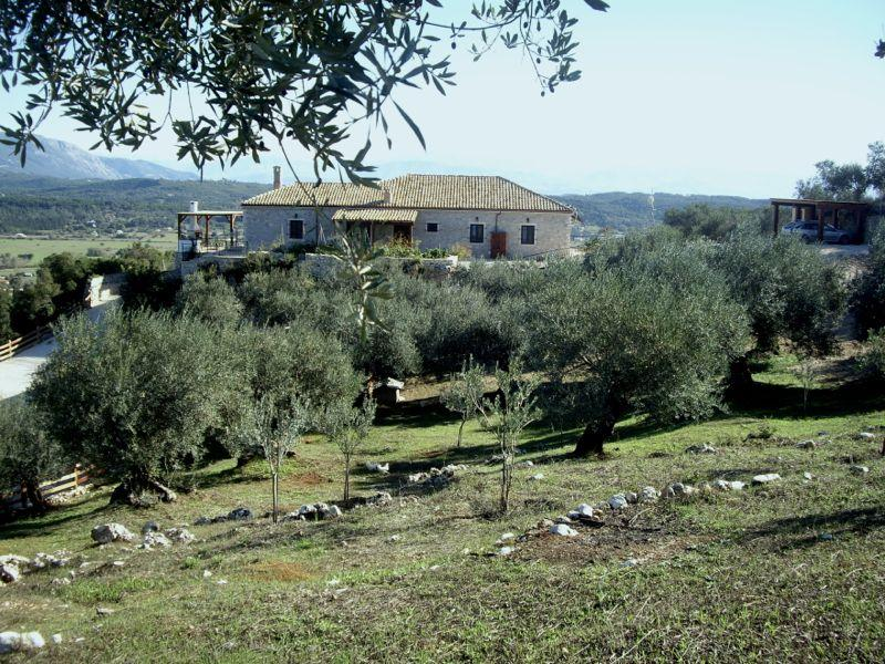 The villa from the property