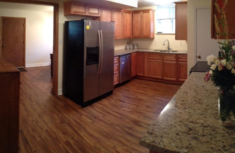 Kitchen w/SS appliances, Granite counters and Spacious!
