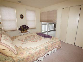 Bedroom leads to Screened Porch