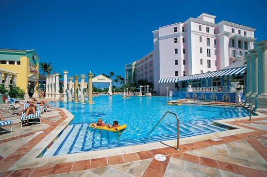Secure a day pass to Sandals Royal Bahamas, enjoying the hotel without the added cost. 17 min away