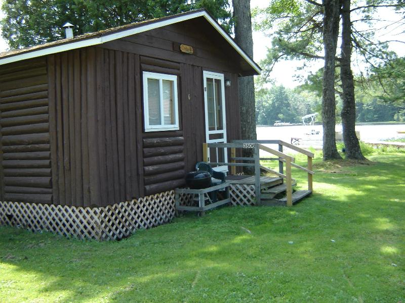 Lake Side Cabin 6 with great lake views!