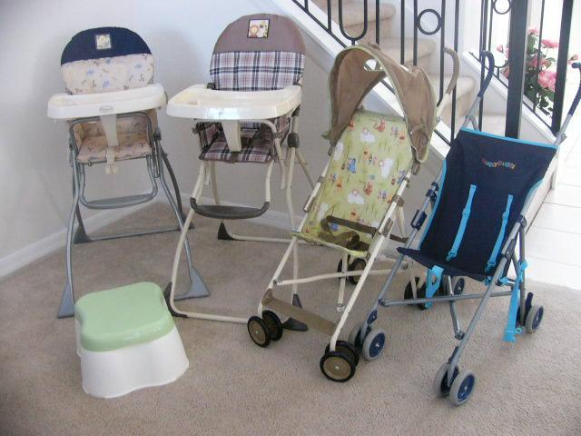 Buggies & Highchairs