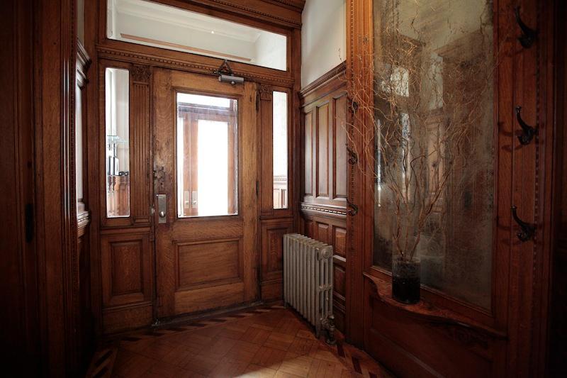 Building entry foyer.