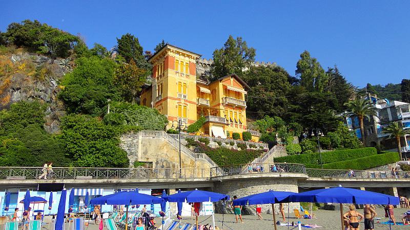 Seafront vakantie 'Villa Ambra' te huur in Levanto Ligurië, Italië