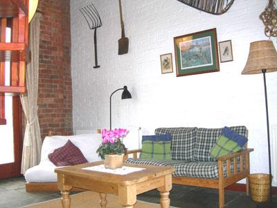 Granary living room.