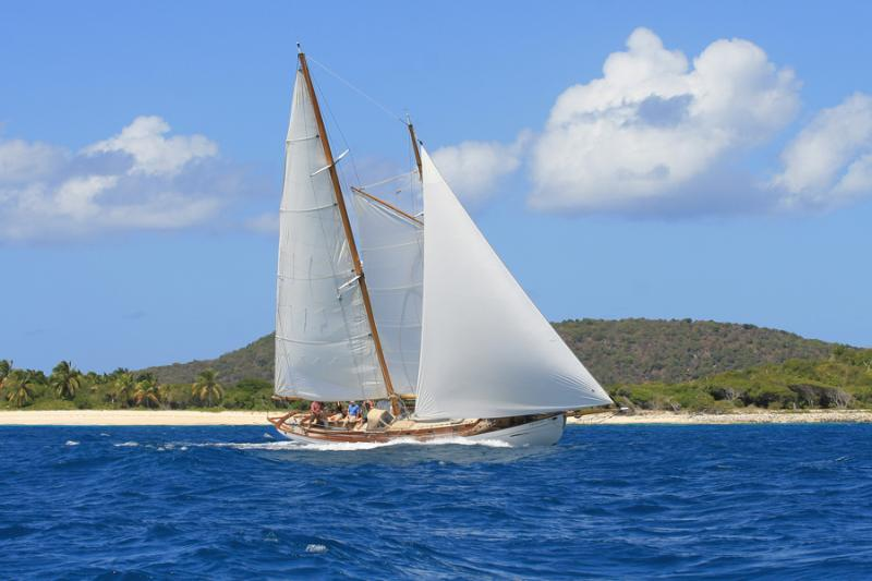Sail, Snorkel, Hike Ecotour on Classic Yacht Heron, holiday rental in Hillsborough
