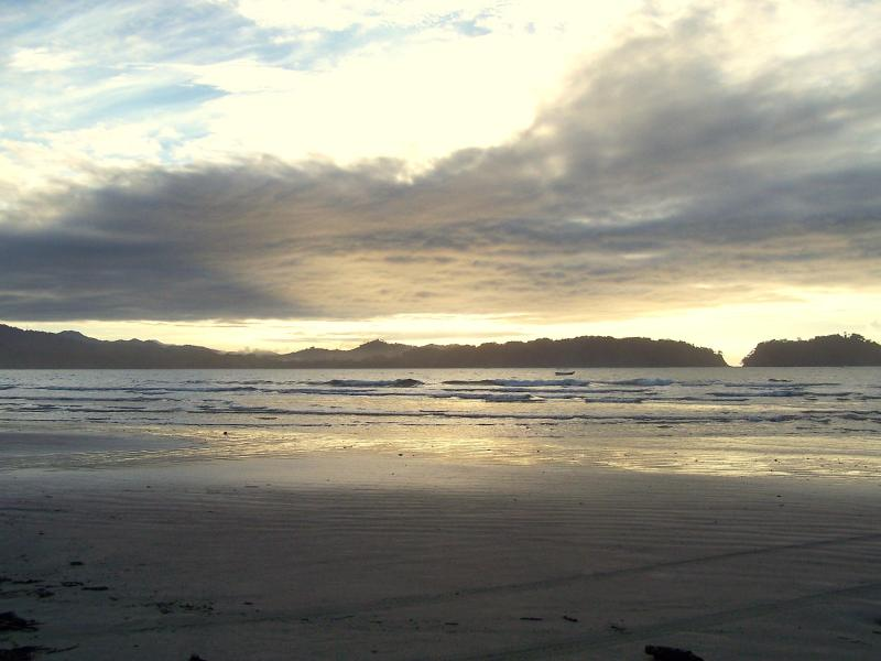 sunrise on Playa Samara