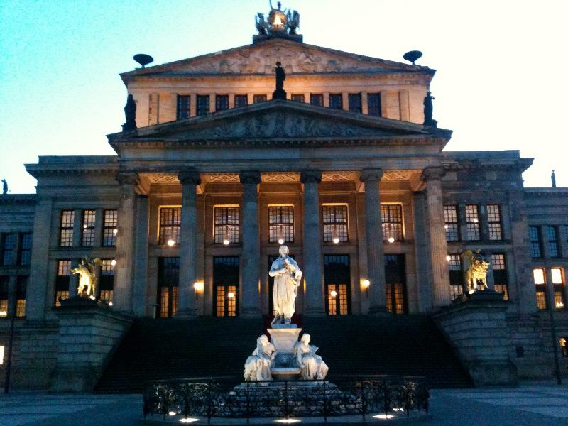 walking distance to the most beautiful square in Berlin (Gendarmenmarkt)  just 5 minutes