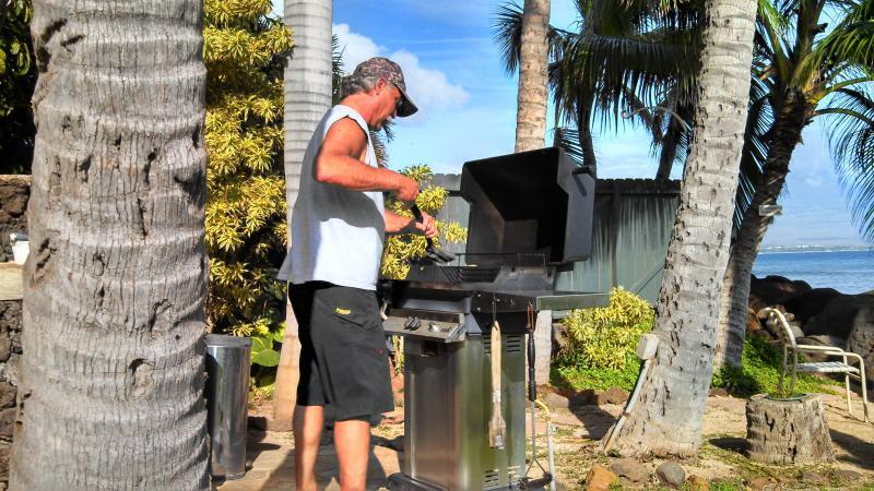 Oceanside BBQ Area