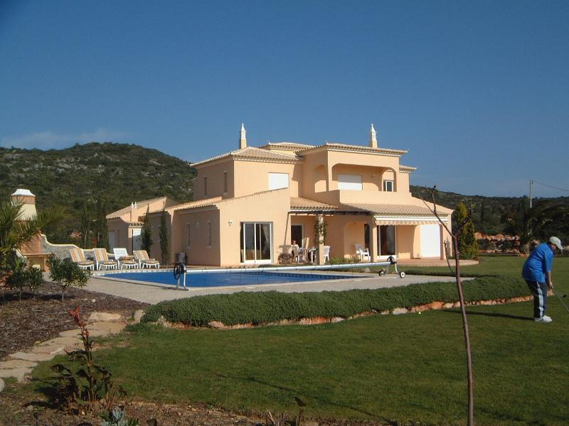 villa - Rear View