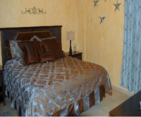 Sweet Dreams When ou Spend the Night on Very Comfortable King Size Bedi