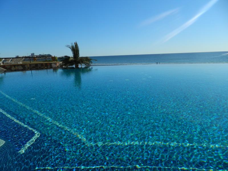Negative Edge Swimming Pool with the best views of The Sea of Cortez