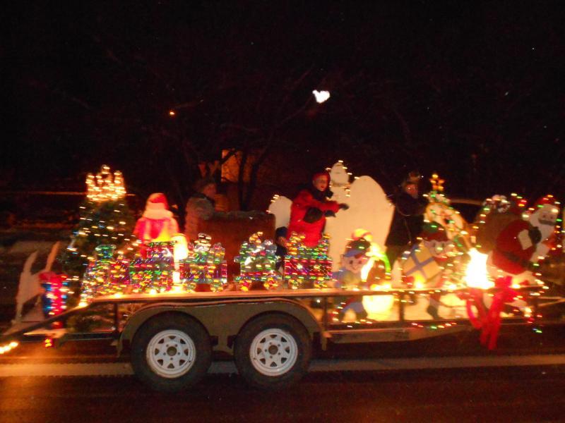 Homemade Christmas Parade