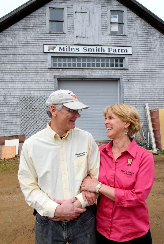Farm Owners, Carole and Bruce