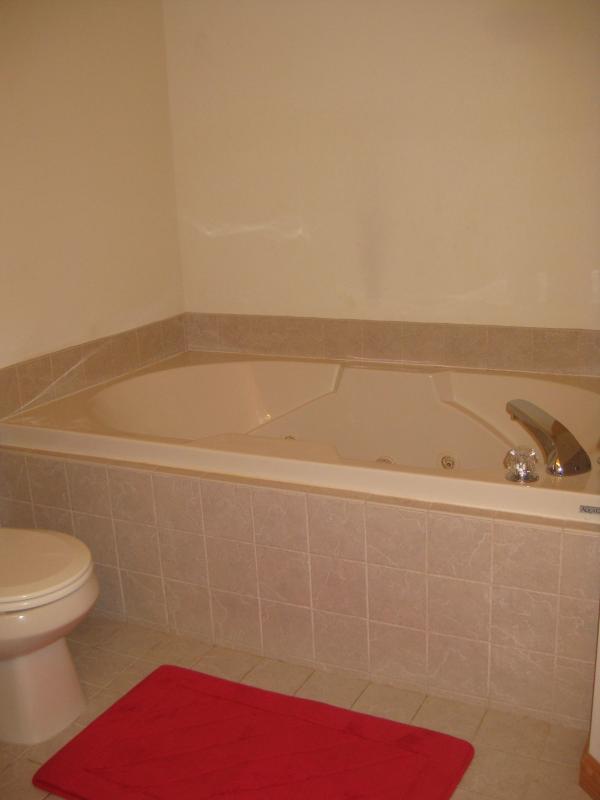 Jacuzzi - in master bath