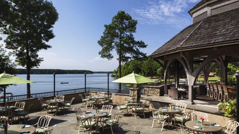 Gabys on the Lake restaurant ~ 15 mins drive ~ 25 mins by water - public restaurant at the Ritz