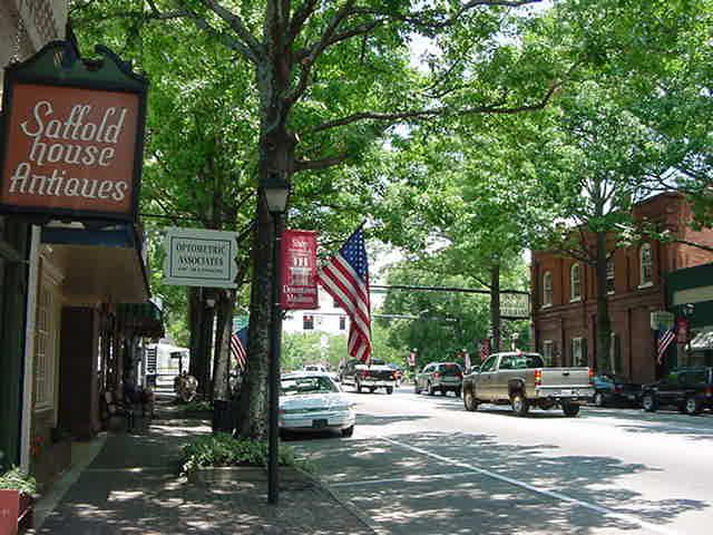 Downtown Madison, Ga - one of a few close-by antebellum towns (also Greensboro, GA &  Eatonton, GA)