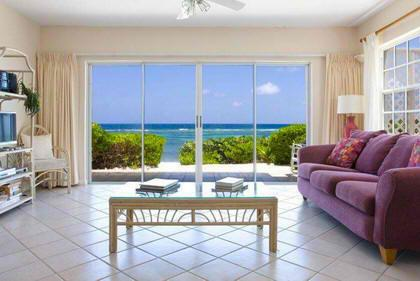 Gorgeous Beachfront Villa, Azure Breeze #5, holiday rental in North Side