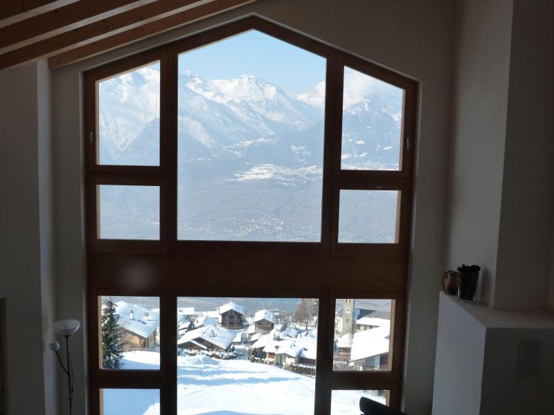 Picture window with stunning views