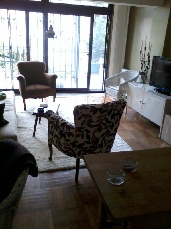 primera versión de la sala de estar