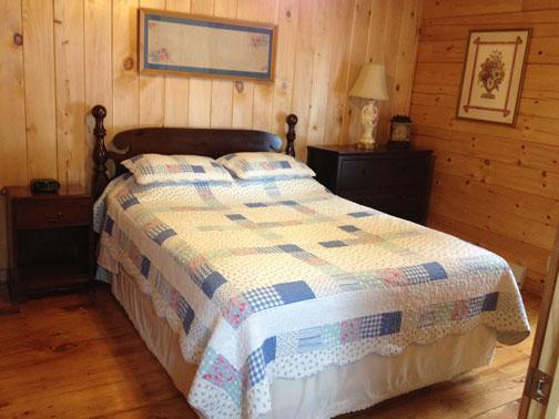 Master bedroom on 1st floor with Queen bed