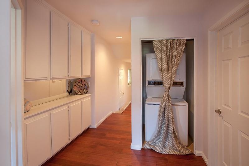 Área de lavandería interna conveniente