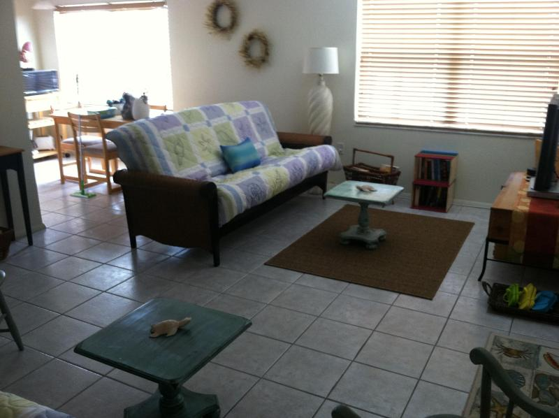 Spacious Living Room, Great for R&R