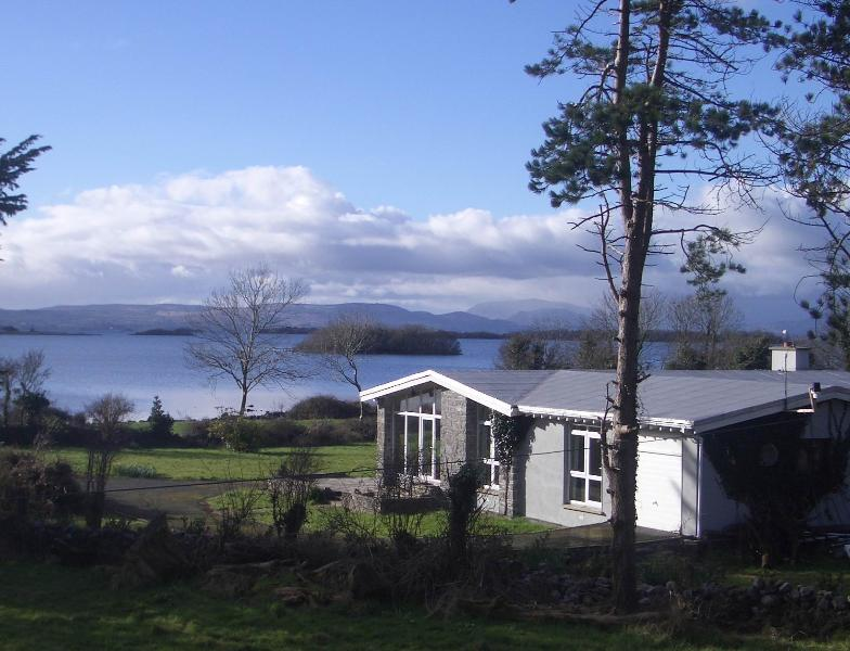 Ballycurrin Lodge over looking Lough Corrib