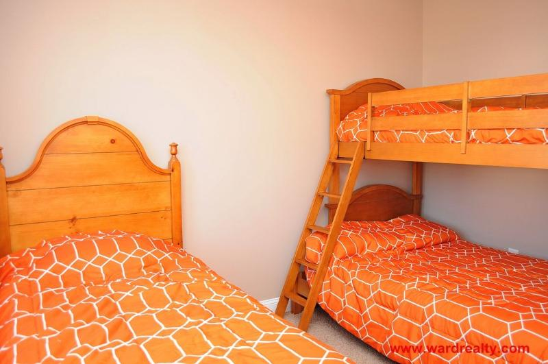 1st Floor Twin/Double Bunk Room with Twin/Trundle
