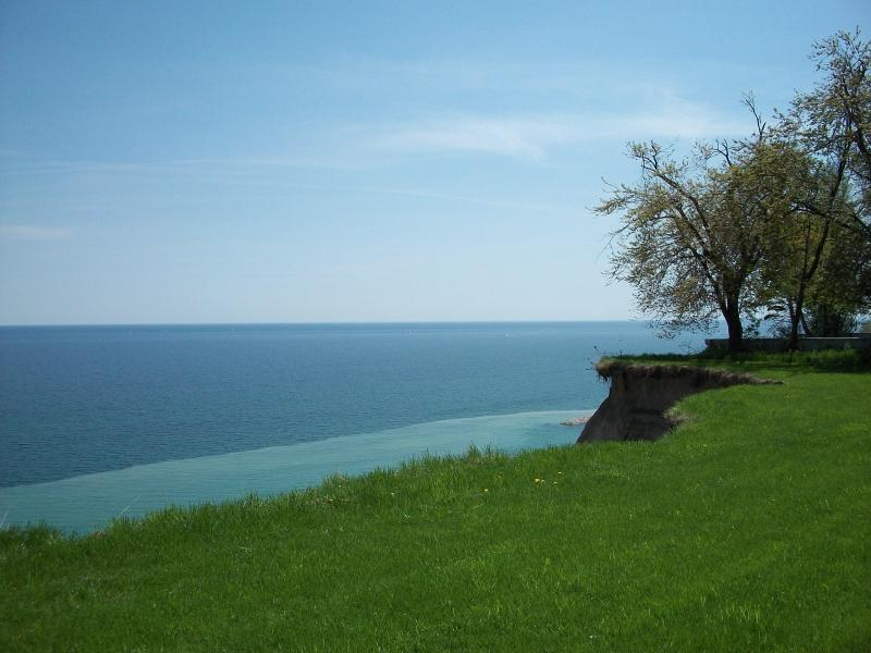 View from the top of Scarborough Bluffs