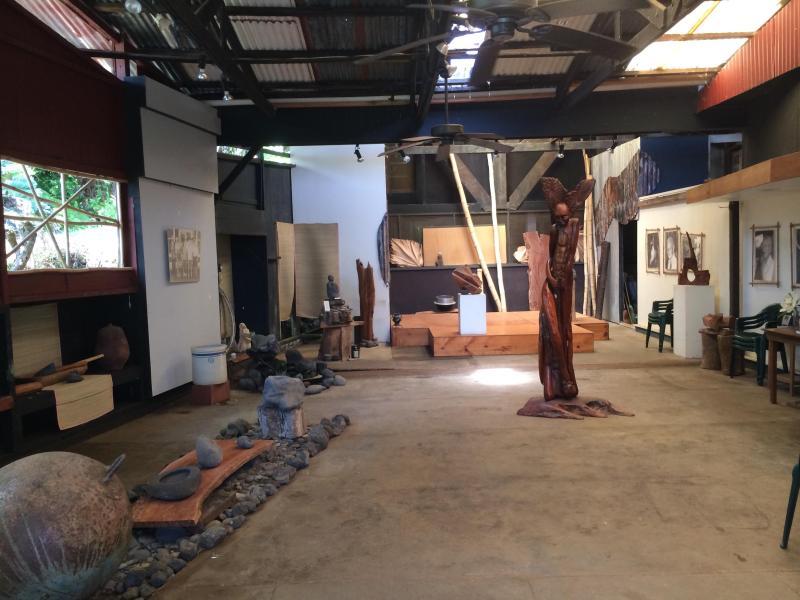 Motonaga Garage Gallery - on site featuring local atrists