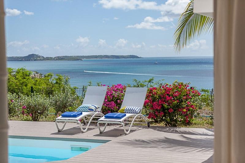 Sea Dream... 3br vacation rental villa in Happy Bay, St Martin
