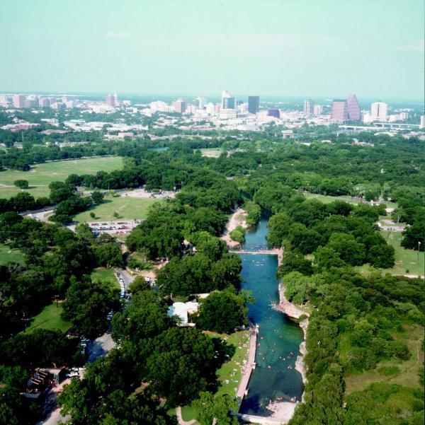 Mooie Austin ligt in het Heuvelland Texas!