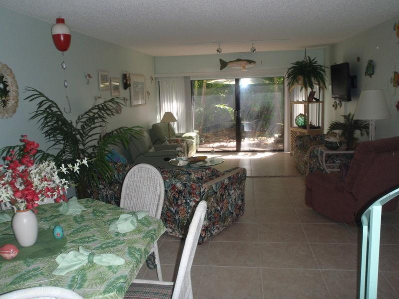 LIVING ROOM FROM DINING AREA