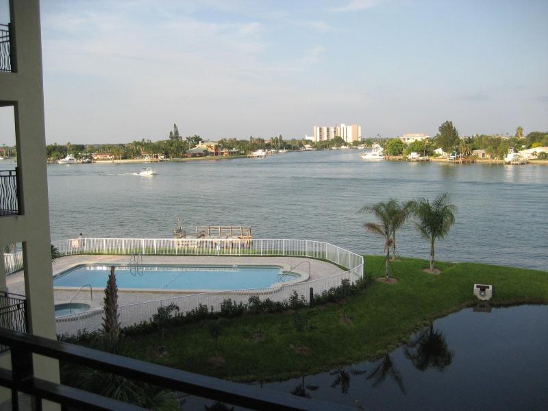 Water views from Walkway