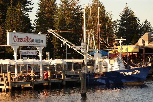 Visserij boot haven Frmantle