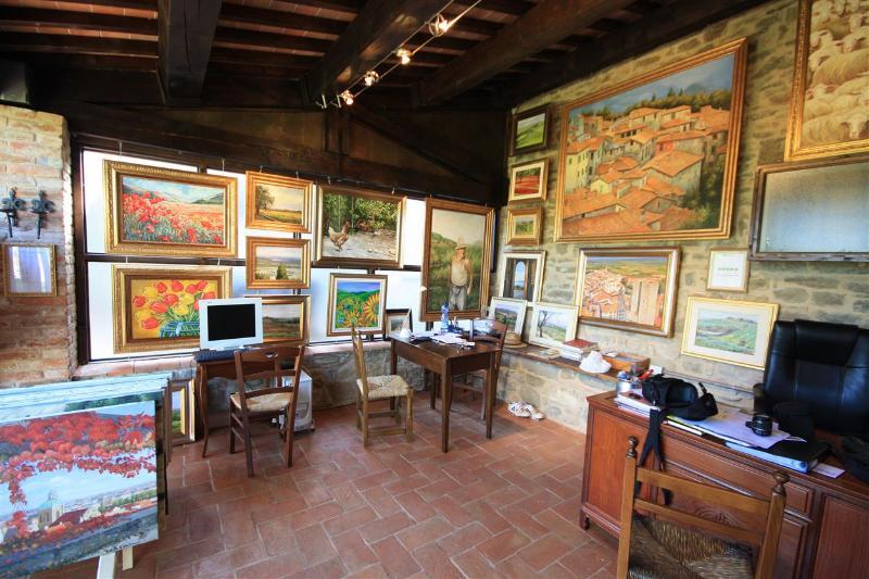 Das Büro und Kunstgalerie
