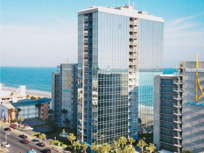 Seaglass Towers  Resort at Myrtle Beach, South Carolina