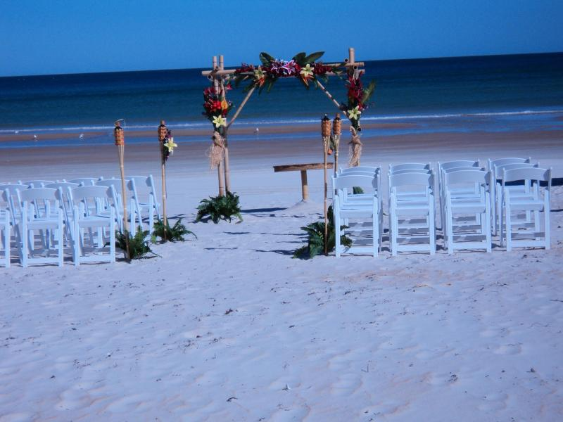You can have a Beach Wedding