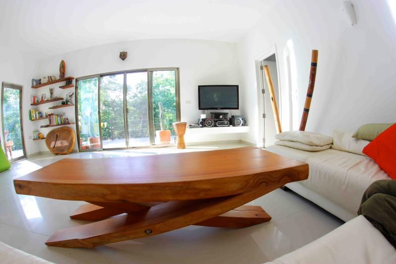 Open wide living room - Calakmul apartment