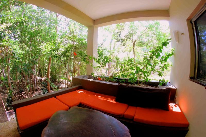 Outside & covered terrace - COBA apartment