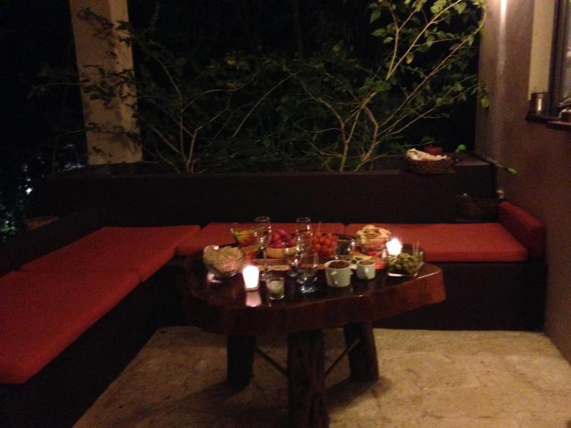 Lounge terrace - Coba apartment
