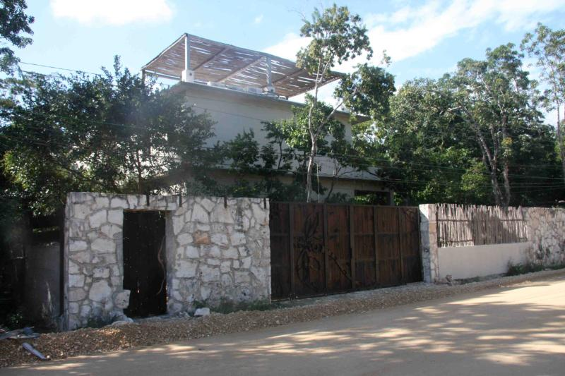 Outside view of the property