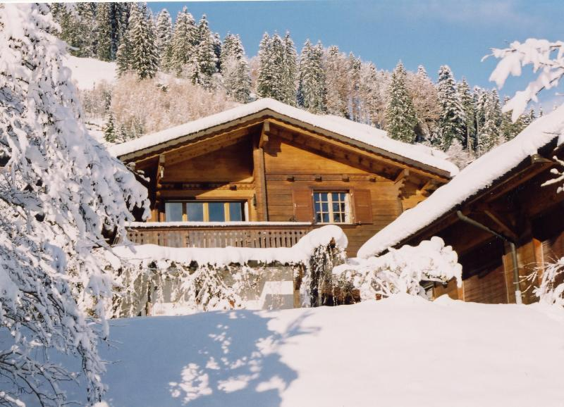Chalet La Taupiniere | Private Indoor Pool & Sauna | Sleeps 9, location de vacances à La Gruyère