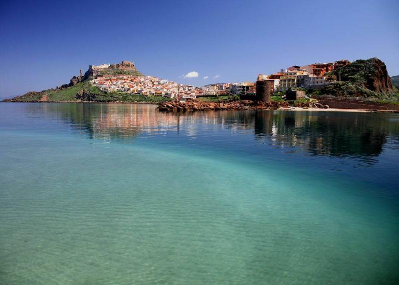 Castelsardo's sea