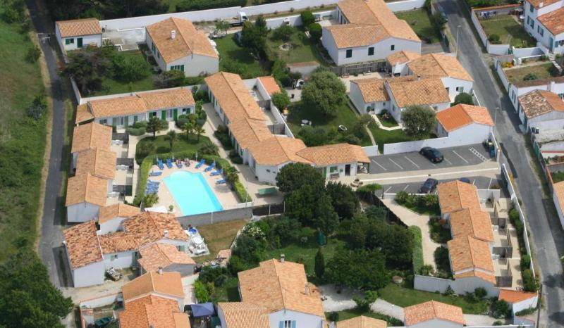 Mit Blick auf unsere Residenz vom Himmel