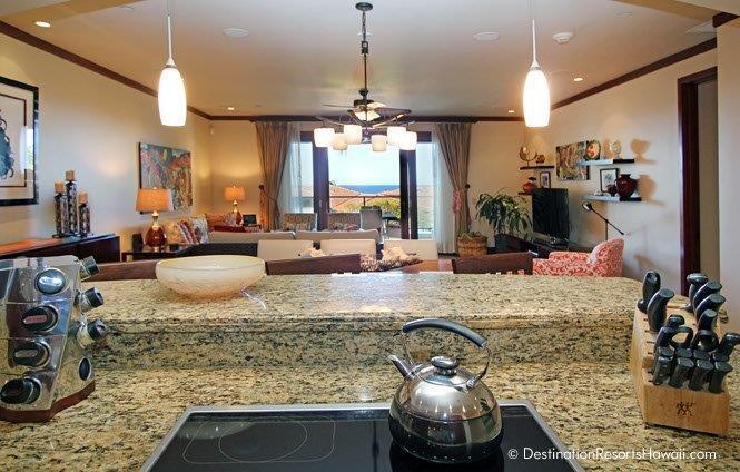 Kitchen; Dining Room; Living Room